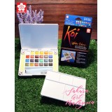 Koi Water Colors Pocket Field Sketch Box (24C)