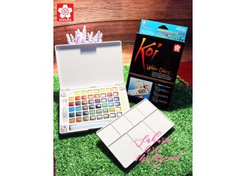 Koi Water Colors Pocket Field Sketch Box (48C)