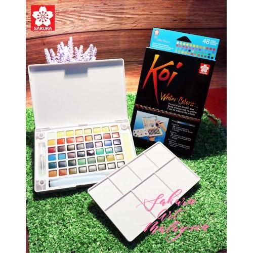 Koi Water Colors Pocket Field Sketch Box (48C)