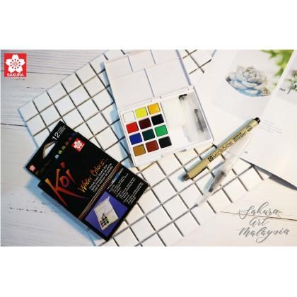 Koi Water Color Pocket Field Sketch Box (Starter Pack)