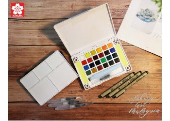 Koi Water Color Pocket Field Sketch Box (Hobby Pack)