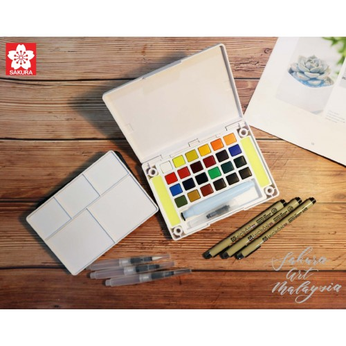 Koi Water Color Pocket Field Sketch Box (Hobby Pack)
