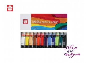 Sakura Acrylic Color 20ml (12 color set)