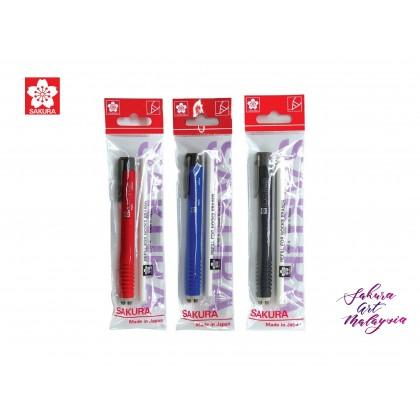 Sakura Nock Eraser + Refill Pack