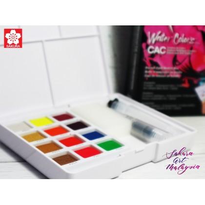 Water Colors Pocket Field Sketch Box CAC Set (12C)