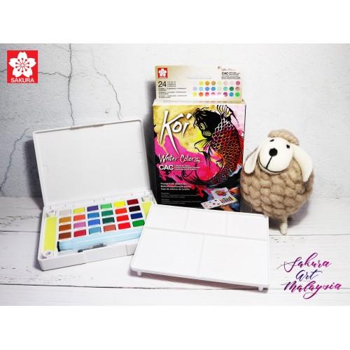 Water Colors Pocket Field Sketch Box CAC Set (24C)