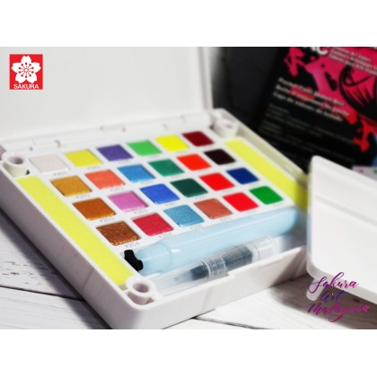 Water Colors Pocket Field Sketch Box CAC Set (24C)