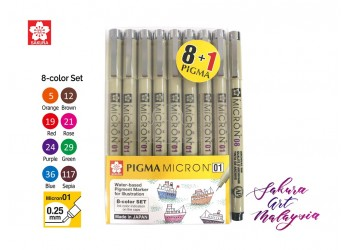 """""""Limited Time !! """" Pigma MIcron Marker 8's + FOC 1's"""
