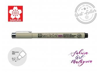 Sakura Pigma Micron 0.2mm (Colour)