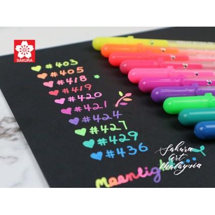Gelly Roll Moonlight Set (4+1) + Free Book Mark (1's)