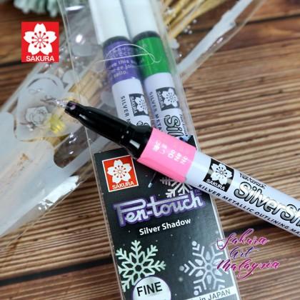 Pen-Touch Silver Shadow (Fine) 3'S